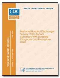 National Hospital Discharge Survey : 200... by Hunter, Edward L.