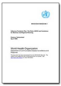 World Health Organization by Department of Health and Human Services