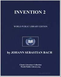 Invention 2, Score Bach-invention-02 by Johann Sebastian Bach