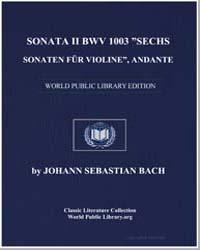 Sonata II Bwv 1003 Žsechs Sonaten Für Vi... by Johann Sebastian Bach