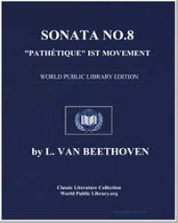 Sonata Number 8 Pathétique Ist Movement ... by L. Van Beethoven