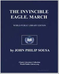 The Invincible Eagle. March, Score Thein... by John Philip Sousa