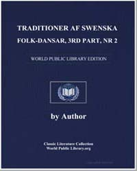 Traditioner Af Swenska Folk-dansar, 3Rd ... by Mutopia