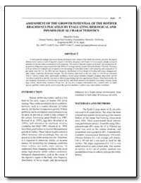 Assessment of the Growth Potential of th... by Koiso, Masahiko