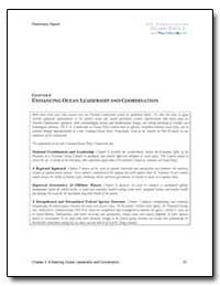 Chapter 4 : Enhancing Ocean Leadership a... by