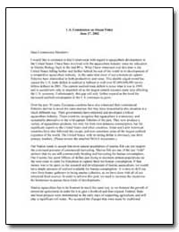 U.S. Commission on Ocean Policy June 17,... by Bright, Kevin J.