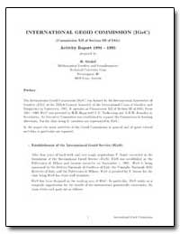 International Geoid Commission (Igec) by Sunkel, H.