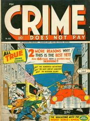 Crime Does Not Pay 044 by Lev Gleason Comics / Comics House Publications