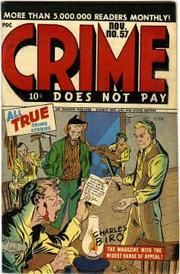 Crime Does Not Pay 057 by Lev Gleason Comics / Comics House Publications