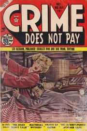 Crime Does Not Pay 103 by Lev Gleason Comics / Comics House Publications