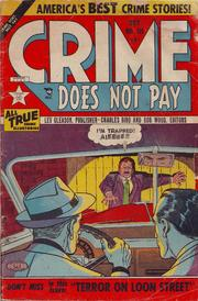 Crime Does Not Pay 115 by Lev Gleason Comics / Comics House Publications