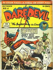 Daredevil Comics 004 by Lev Gleason Comics / Comics House Publications