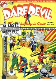 Daredevil Comics 018 by Lev Gleason Comics / Comics House Publications