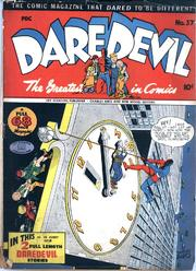 Daredevil Comics 037 (Inc) by Lev Gleason Comics / Comics House Publications