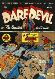 Daredevil Comics 039 by Lev Gleason Comics / Comics House Publications
