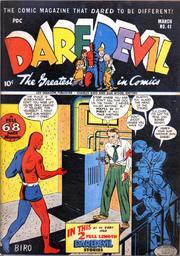 Daredevil Comics 041 by Lev Gleason Comics / Comics House Publications