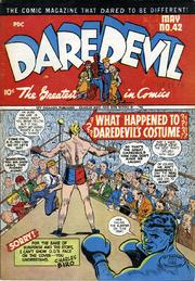 Daredevil Comics 042 by Lev Gleason Comics / Comics House Publications