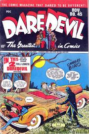 Daredevil Comics 045 by Lev Gleason Comics / Comics House Publications