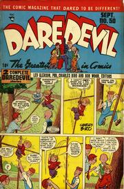 Daredevil Comics 050 by Lev Gleason Comics / Comics House Publications