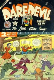 Daredevil Comics 077 by Lev Gleason Comics / Comics House Publications