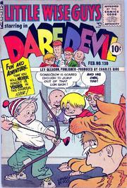 Daredevil Comics 130 by Lev Gleason Comics / Comics House Publications