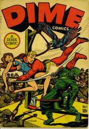 Dime Comics 001 B by Lev Gleason Comics / Comics House Publications