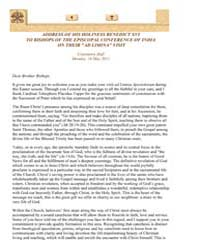 To Bishops of the Episcopal Conference o... by Papal Encyclicals