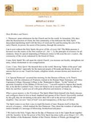 John Paul II Regina C O Eli Solemnity of... by Papal Encyclicals
