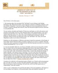 To the Bishops of Brazil on a Visit Ad L... by Papal Encyclicals
