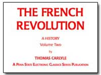 The French Revolution a History Volume T... by Carlyle, Thomas