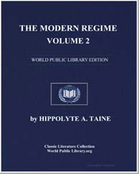 The Modern Regime, Volume 2, The Origins... by Taine, Hippolyte A.