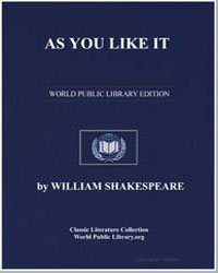As You Like It by Shakespeare, William