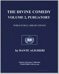 The Divine Comedy, Volume 2, Purgatory by Alighieri, Dante