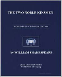 The Two Noble Kinsmen by Shakespeare, William