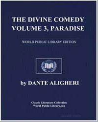 The Divine Comedy, Volume 3, Paradise by Alighieri, Dante