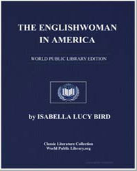 The Englishwoman in America by Bird, Isabella Lucy