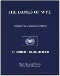 The Banks of Wye; A Poem. In Four Books by Bloomfield, Robert
