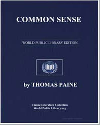 Common Sense by Paine, Thomas