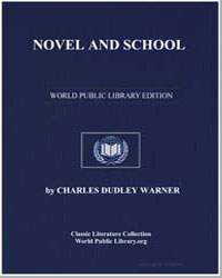 Novel and School by Warner, Charles Dudley