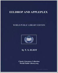 Eeldrop and Appleplex by Eliot, T. S.