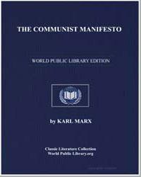The Communist Manifesto by Marx, Karl