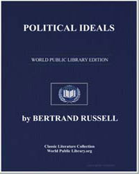 Political Ideals by Russell, Bertrand