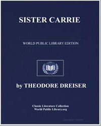 Sister Carrie by Dreiser, Theodore