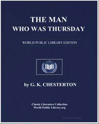 The Man Who Was Thursday by Chesterton, Gilbert Keith