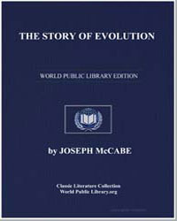The Story of Evolution by Mccabe, Joseph
