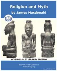 Religion and Myth, Score Afr Ram by MacDonald, James