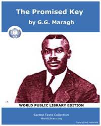 The Promised Key, Score Afr Tpk by Maragh, G.G.
