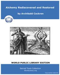 Alchemy Rediscovered and Restored, Score... by Sacred Texts