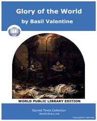 Sacred Text : Glory of the World by Valentine, Basil