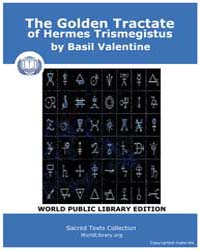The Golden Tractate of Hermes Trismegist... by Valentine, Basil